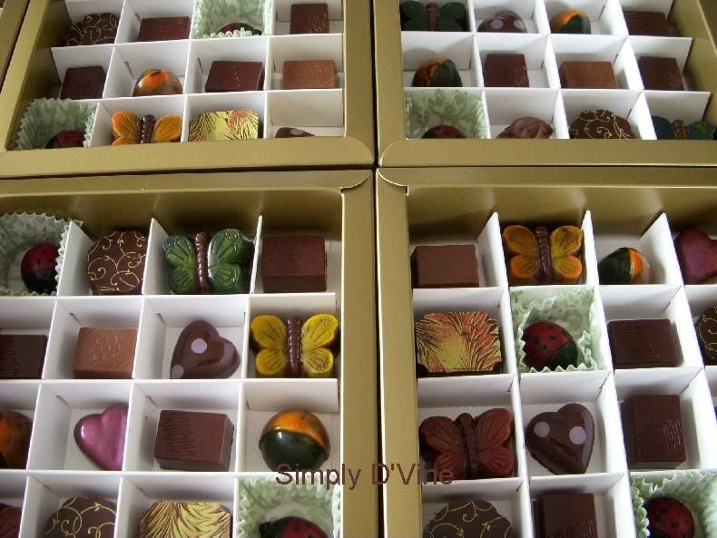 Simply Dvine Chocolates