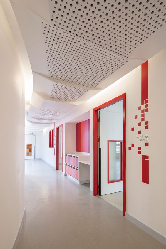 rh Architecture Maison de la petite enfance Paris Hospital
