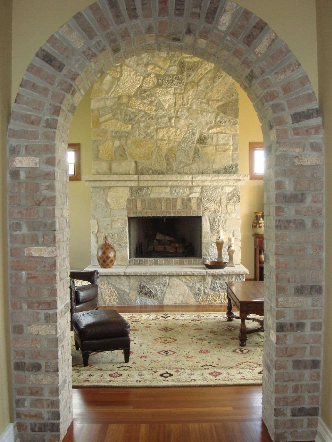 Adding Brick To An Archway For The Home In 2019 Brick