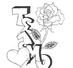 Resultado De Imagen Para Dibujos De Graffitis A Lapiz De Amor De