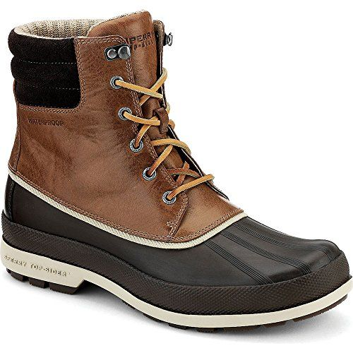 Sperry Cold Bay Mens Boots in Brown/Tan