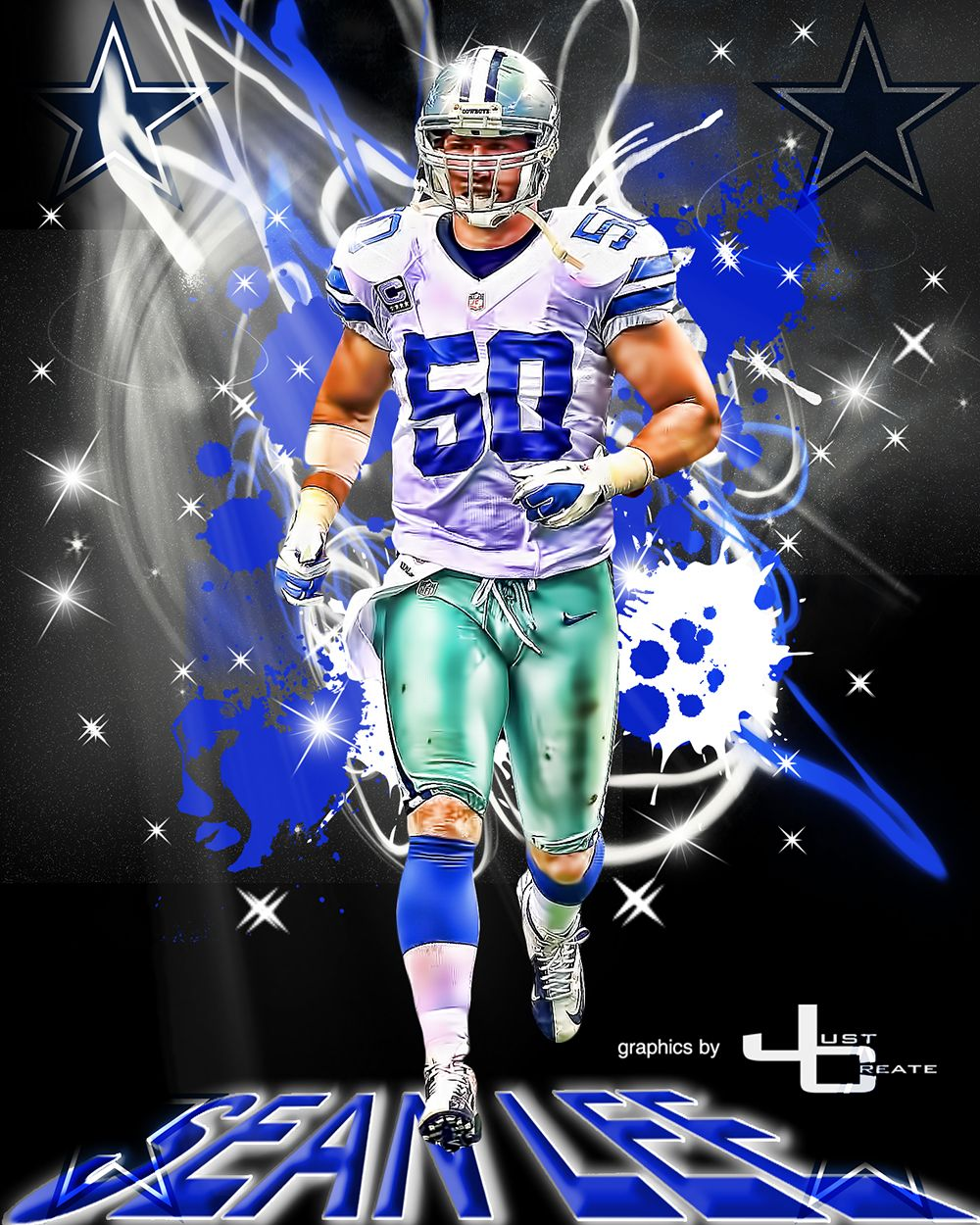Sean Lee Graphics By Justcreate Sports Edits Dallas