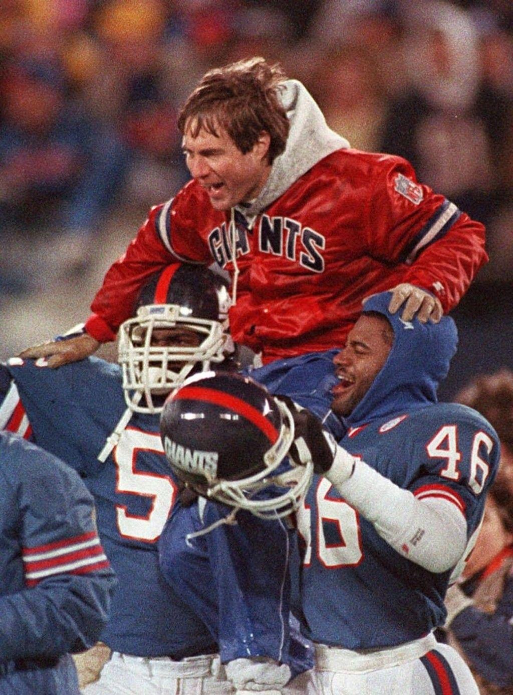 Bill Belichick NY Giants NY Daily News Nfl coaches, New