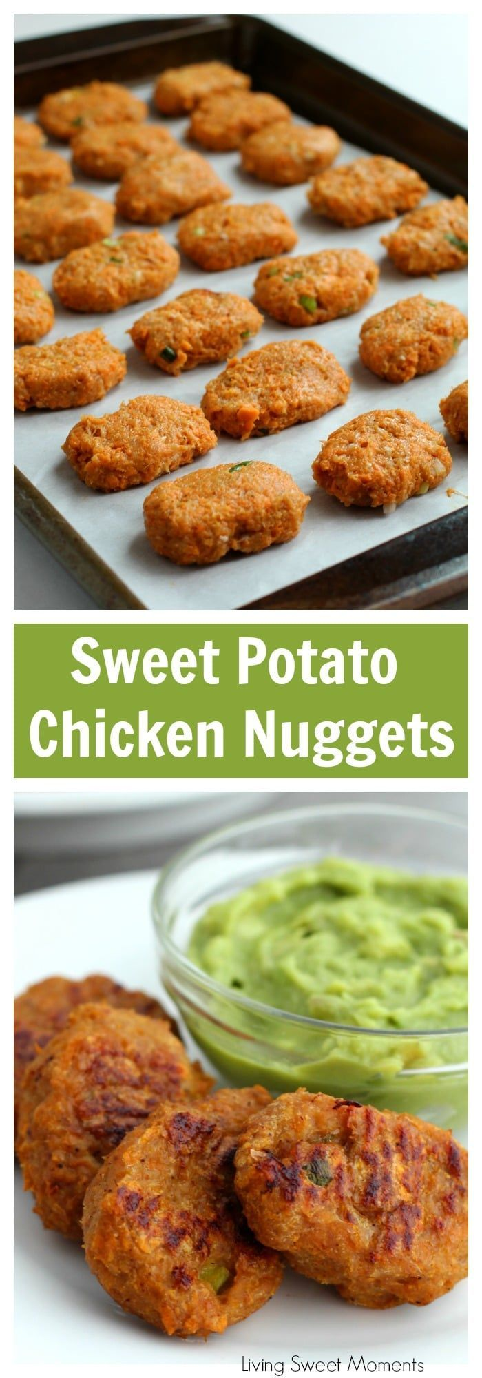Süßkartoffel-Hühnernuggets #whole30recipes