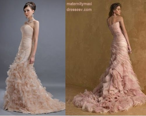 Champagne Colored Wedding
