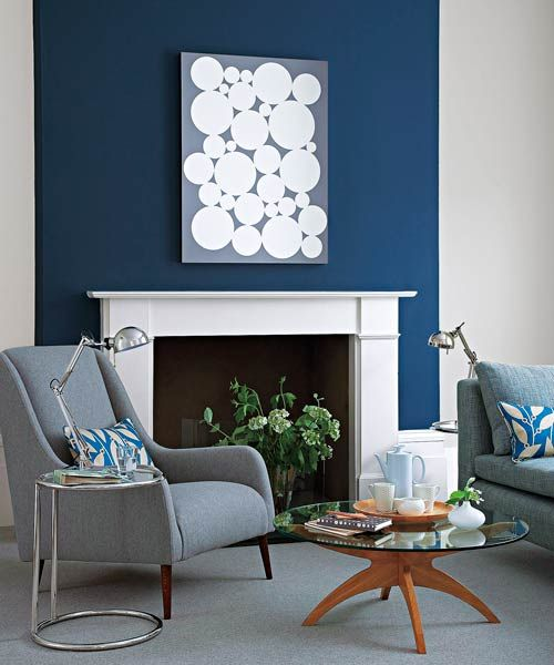 11 Of Your Most Crazy Making Paint Color Questions Answered Blue Accent Wall Living Room Accent Walls In Living Room Blue Accent Walls