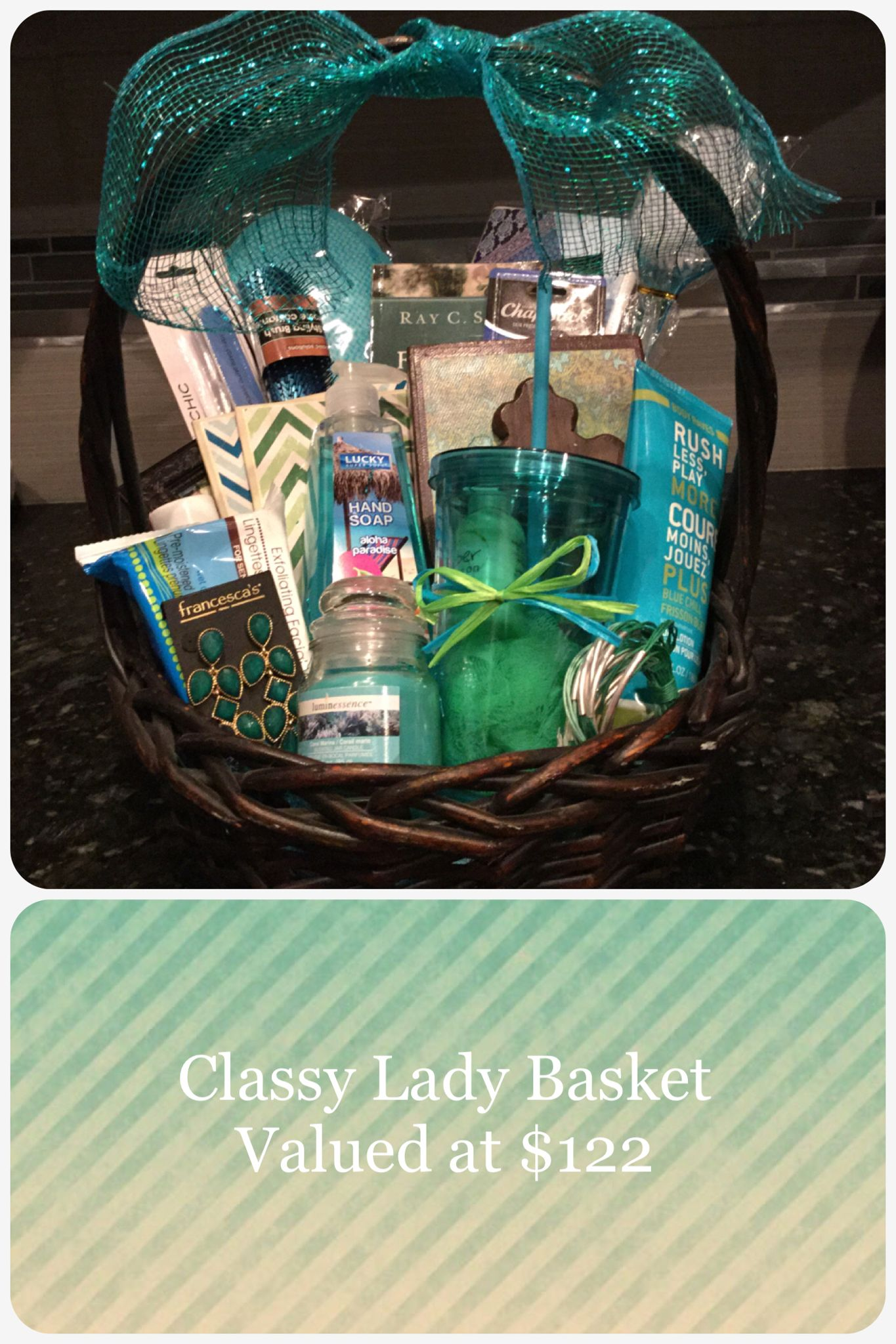 Have a lady in your life whom you want to feel loved and special this is a cute idea to use for an easter basket for mom mother in law an aunt grandma or a special women in your life negle Image collections