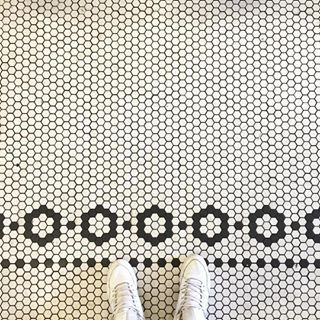 hexagon pattern tile how to - Google Search