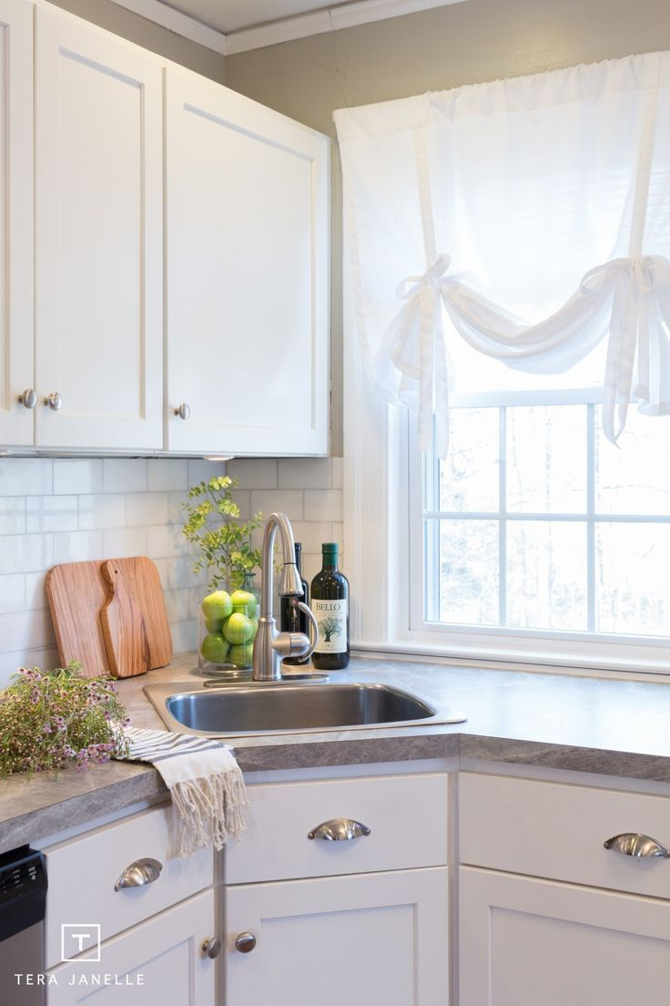 We love this kitchen makeover featuring 3459 Soapstone Sequoia 180fx ...