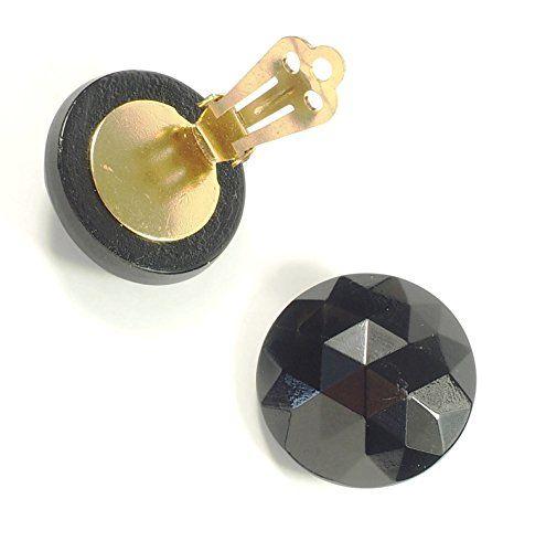 streitstones Glas-Ohrklips in schwarz bis zu 50 % Rabatt Lagerauflösung streitstones http://www.amazon.de/dp/B00T9K5WGO/ref=cm_sw_r_pi_dp_uoV6ub1QSQ3D9, streitstones, Ohrring, Ohrringe, earring, earrings, Ohrclips, earclips, bling, silver, gold, silber, Schmuck, jewelry, swarovski