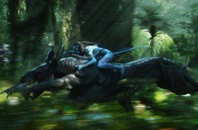 Navi Warrior On Thanator In Avatar HD Desktop Wallpaper