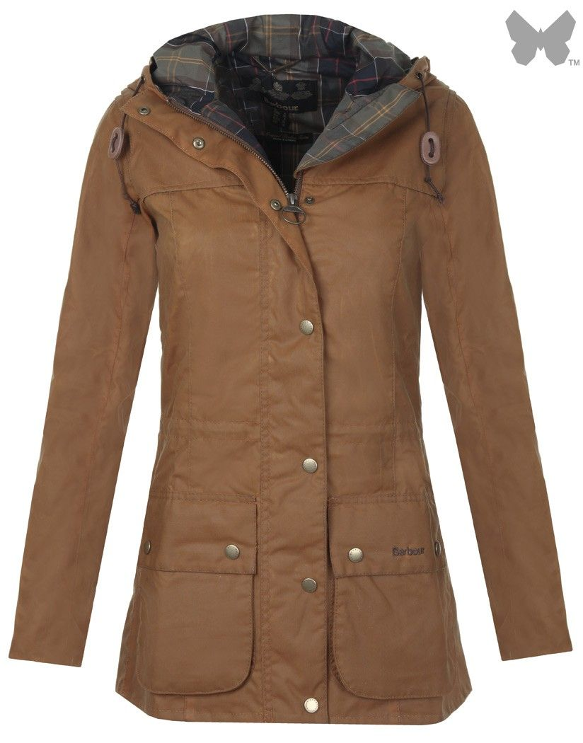 Barbour Heritage Ladies' Vintage Durham Wax Jacket - Buckthorn ...