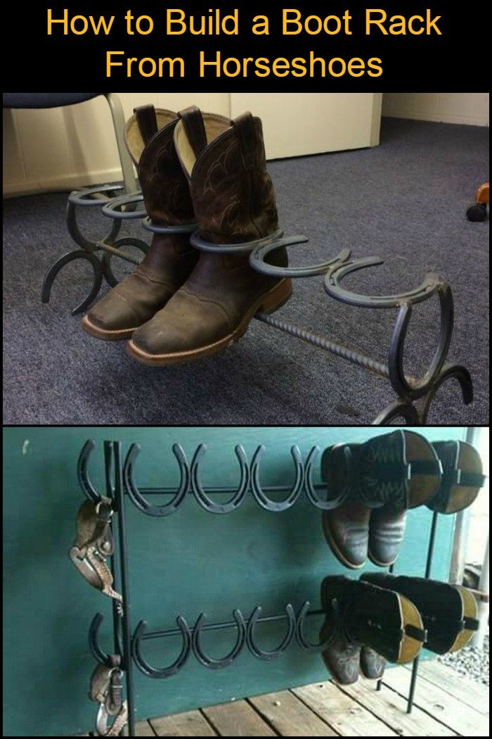 Organize Your Boot Collection With This Clever Boot Rack