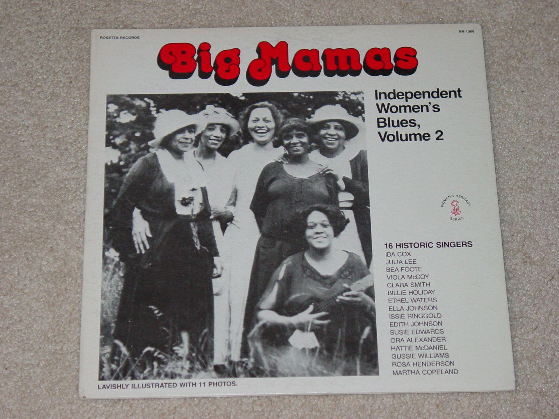 Vintage Hard To Find Vinyl Lp Reocrd Album Big Mamas Etsy Lp Albums Blues Independent Women
