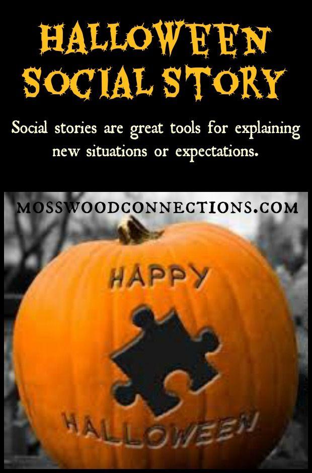 Halloween Social Story Halloween adventure, Halloween fun and - halloween activities ideas