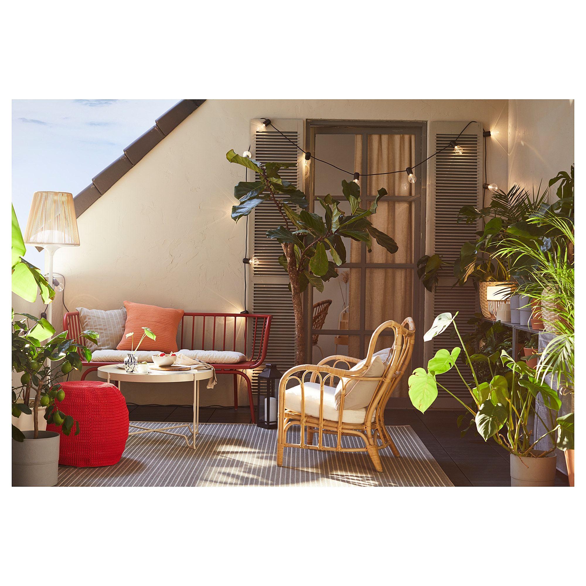 Brusen Sofa Outdoor Red Ikea Buitenwoonkamer Tuinsets Buitenruimte [ 2000 x 2000 Pixel ]
