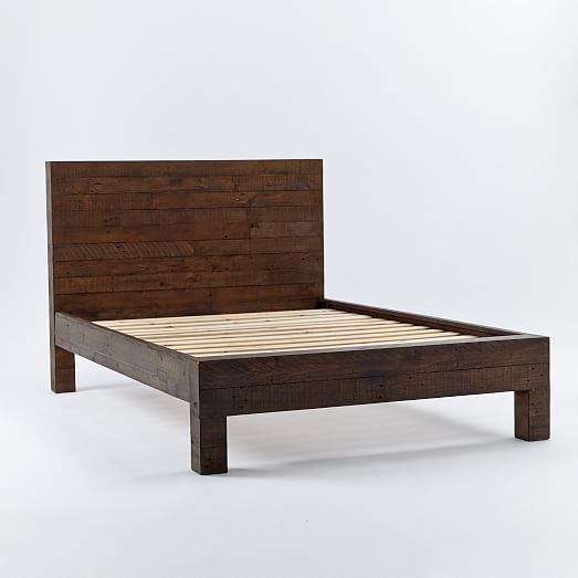 Emmerson® Reclaimed Wood Bed - Chestnut in 2019 | furniture ...