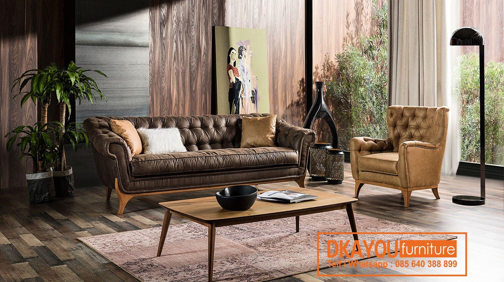Set Kursi Sofa Modern Ruang Tamu Minimalis Terbaru Sksrt 443 Df