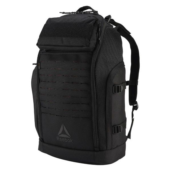 bb91122b38e2 Reebok Unisex Weave Backpack in Black/Black Size N SZ - Training ...
