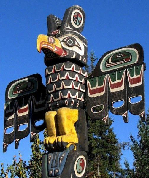 Animal Totem Poles Decoded Animal: Thunderbird Meaning ... - photo#5