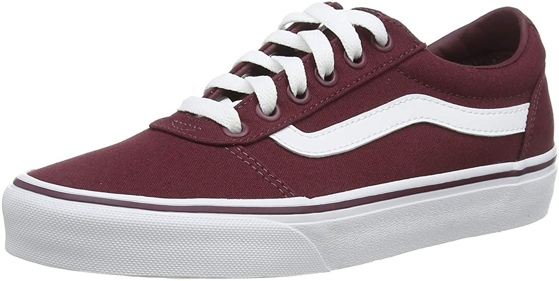 Vans Women's Low-Top Sneakers, Red