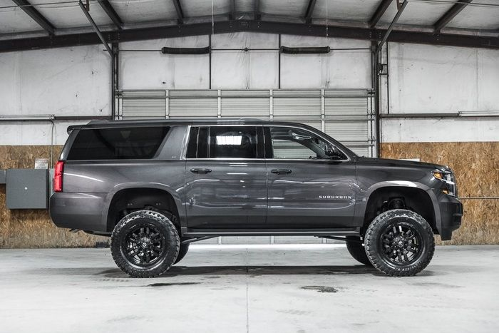 Lifted 2016 Chevrolet Suburban 4x4 Lt 54 488 My Style