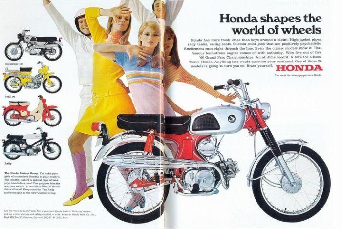 Honda Has More Fresh Ideas Than Boys Around A Bikini