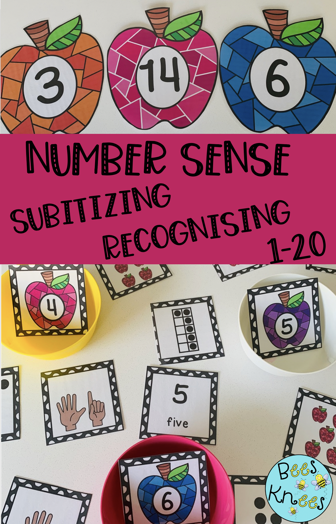 Number Sense 1 20 Activities In