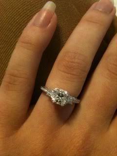 Show me your Tacori engagement rings PurseForum Diamond Rings