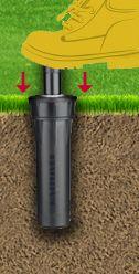How To Fix Sprinkler Heads That Don T Pop Up Yard Lawn Sprinkler System Sprinkler System Repair Sprinkler Heads