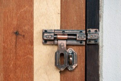 How to Open a Door Chain Lock or Bar Latch from the Outside ...