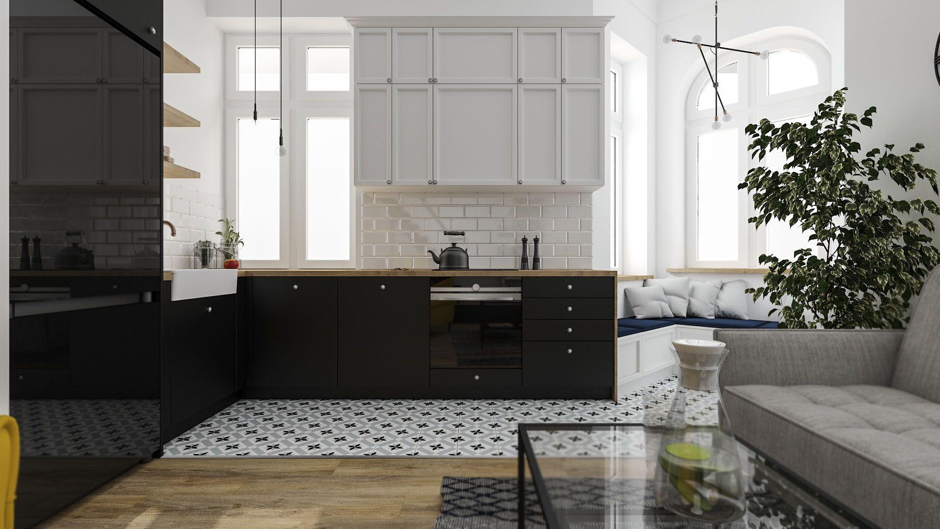 Nowoczesna Kuchnia Z Wykuszem Home Decor Kitchen Cabinets Home