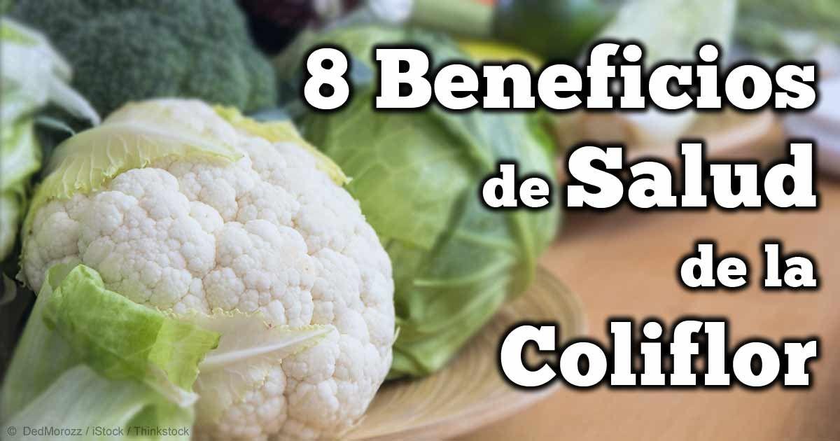 El super alimento coliflor ofrece imprescindibles beneficios en varios aspectos de su salud. http://articulos.mercola.com/sitios/articulos/archivo/2014/06/14/beneficios-de-salud-de-la-coliflor.aspx
