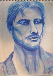 Famous Conte Crayon Drawings