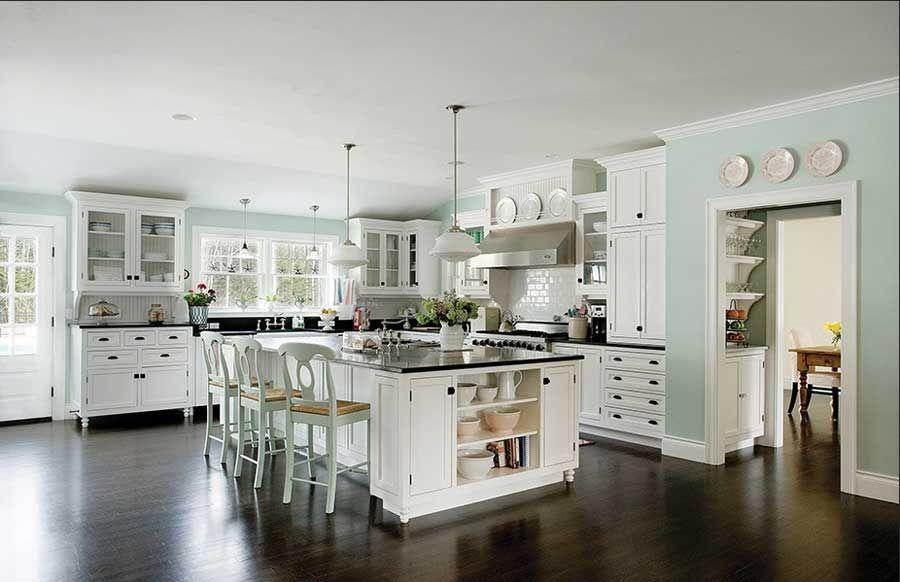 landhausk chen wei k chenm bel installation inklusive schwarz granit arbeitsplatte f r moderne. Black Bedroom Furniture Sets. Home Design Ideas
