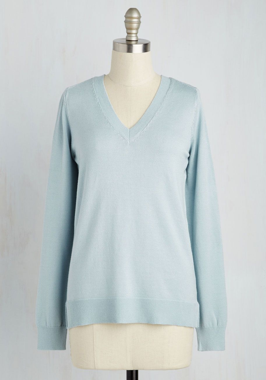 Versatile for Miles Sweater in Sky. However you style this powder ...
