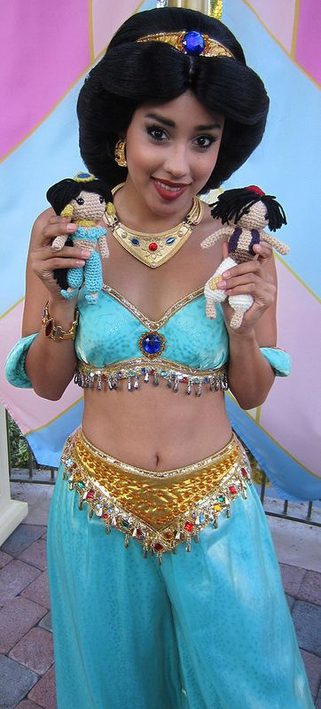 Jasmine with Mini-Jasmine and Mini-Aladdin | Flickr - Photo Sharing!