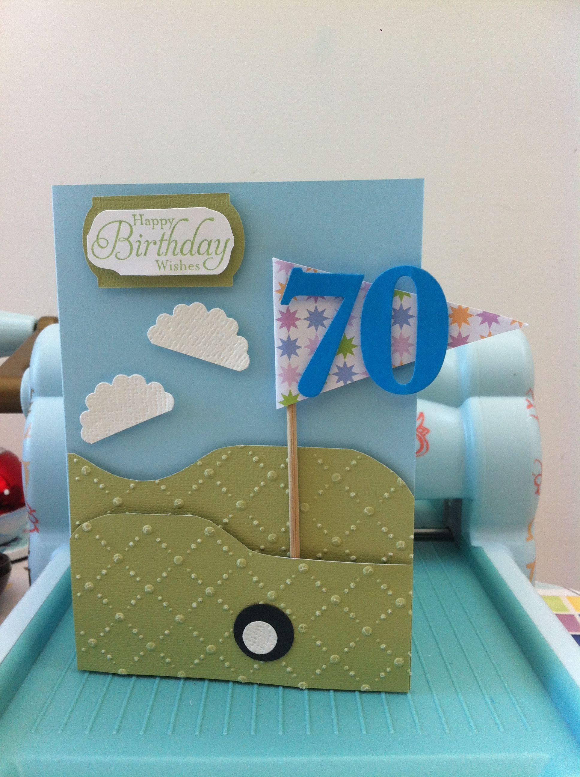 Pin By Rachel Meredith On Crafts Big Birthday Cards 70th Birthday Card Dad Birthday Card