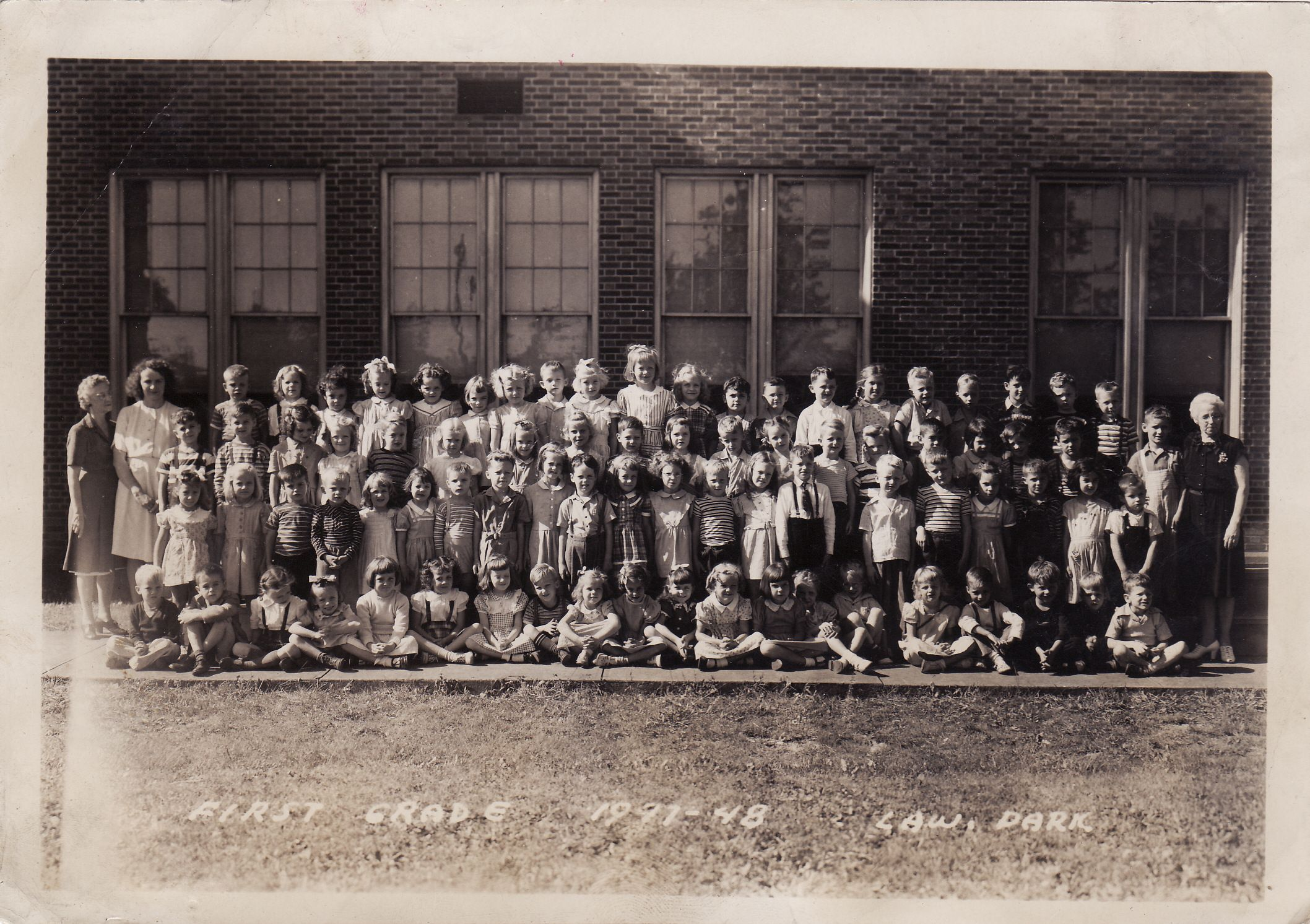 Lawrence Park, First Grade, 1947-1948 - Erie, PA