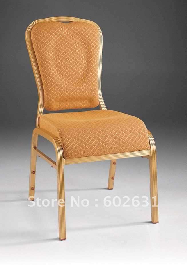 Stacking Aluminum Waterfall Seat Comfortable Banquet Chair