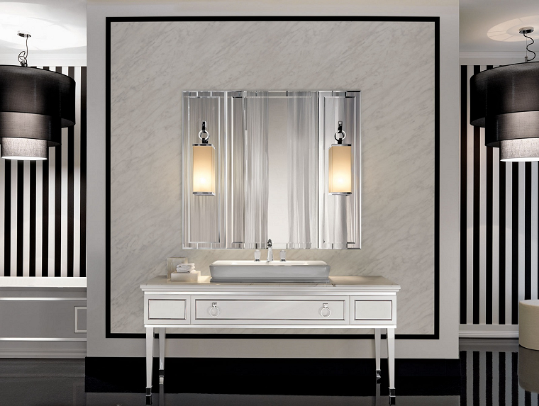 Lampadari bagno stile retro bathroom bagno arredamento lampadari