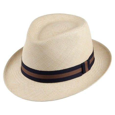 City Sport Panama Trilby Hat - Natural from Village Hats.