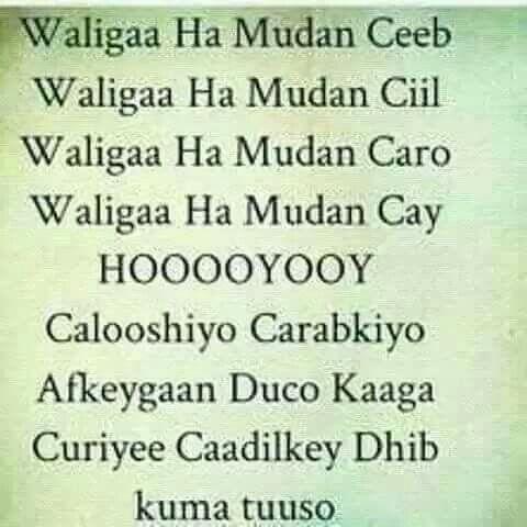Love Hooyo Quotes Somali Love You