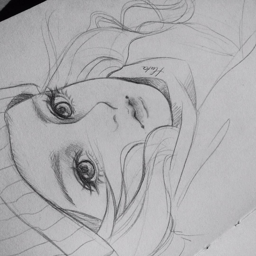 2b pencil... pencil sketch manga anime artist art