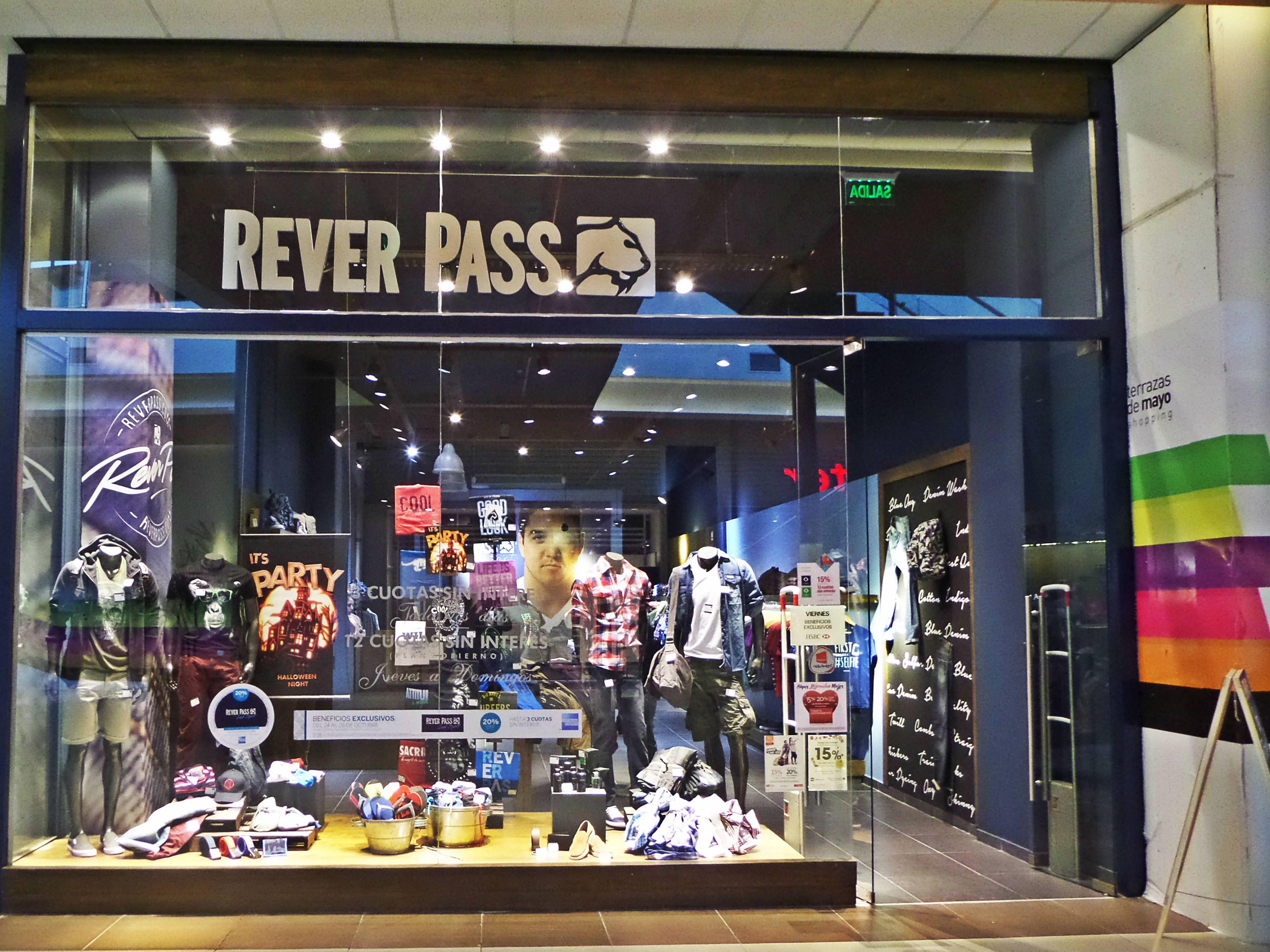Rever Pass En Terrazasdemayo Shopping Buenosaires Argentina Locales Terrazas