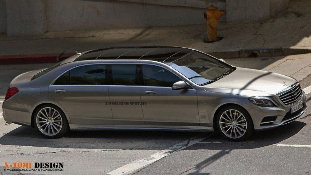 "2014 Mercedes Benz S-Type Pullman ""Limo"""