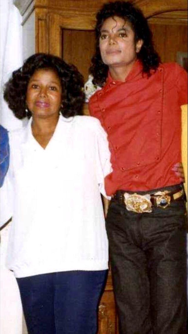 MICHAEL JACKSON & MOM KATHERINE