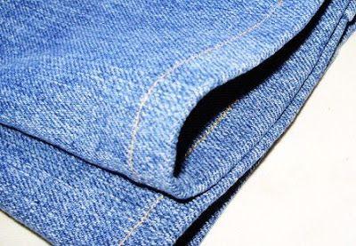 coudre l 39 ourlet d 39 un jean sans faire de sur paisseur au. Black Bedroom Furniture Sets. Home Design Ideas