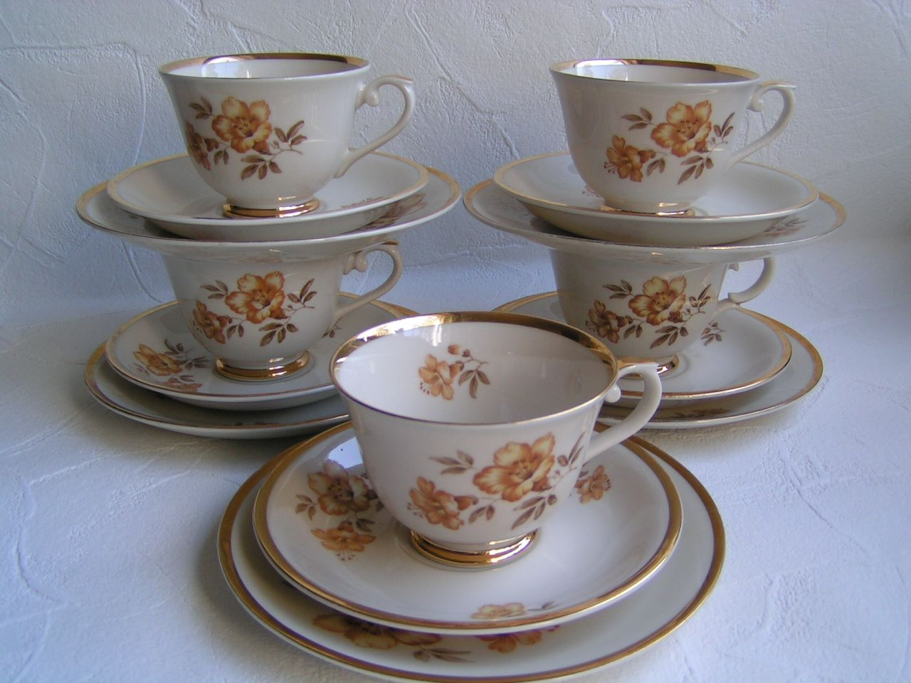 Myrna kahvikupit 6 kpl   Purppura-Antiikki