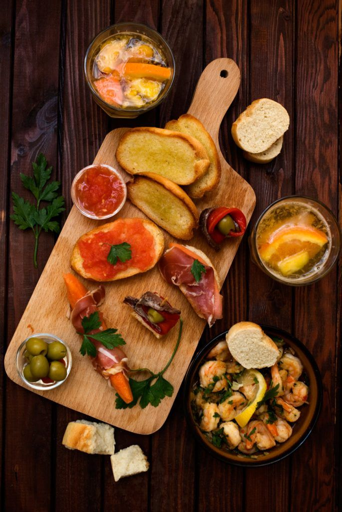 Spanish Tapas, Fruit Sangria and Spain On My Mind Spicie